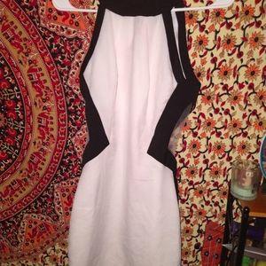 Tobi sexi white&black cocktail dress
